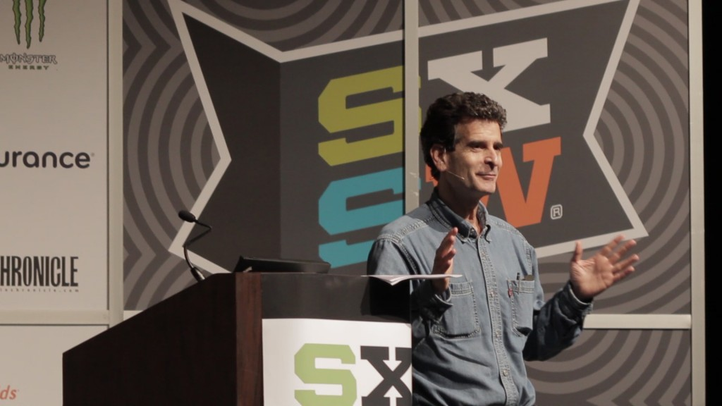 http://www.dylanratigan.com/2012/03/16/inventor-dean-kamen-at-sxsw-reigniting-a-culture-of-experimentation-and-entrepreneurship/